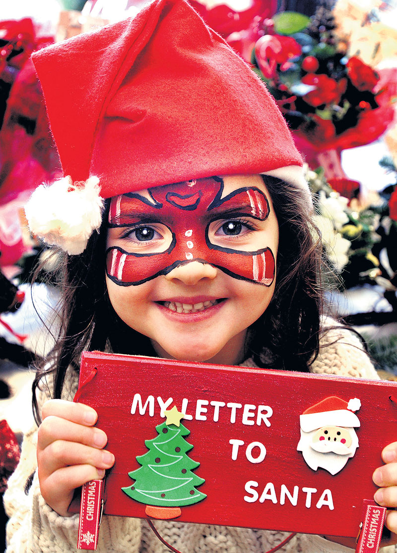 Santa letters help deliver school gifts