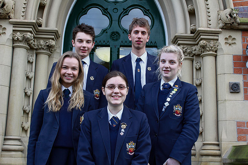 Six proves a lucky number for CHS pupils