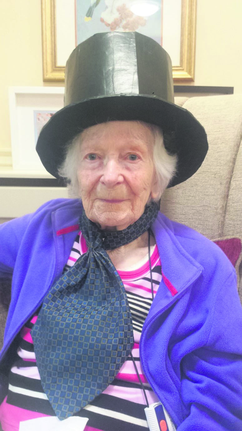 Care home's Victorian visit