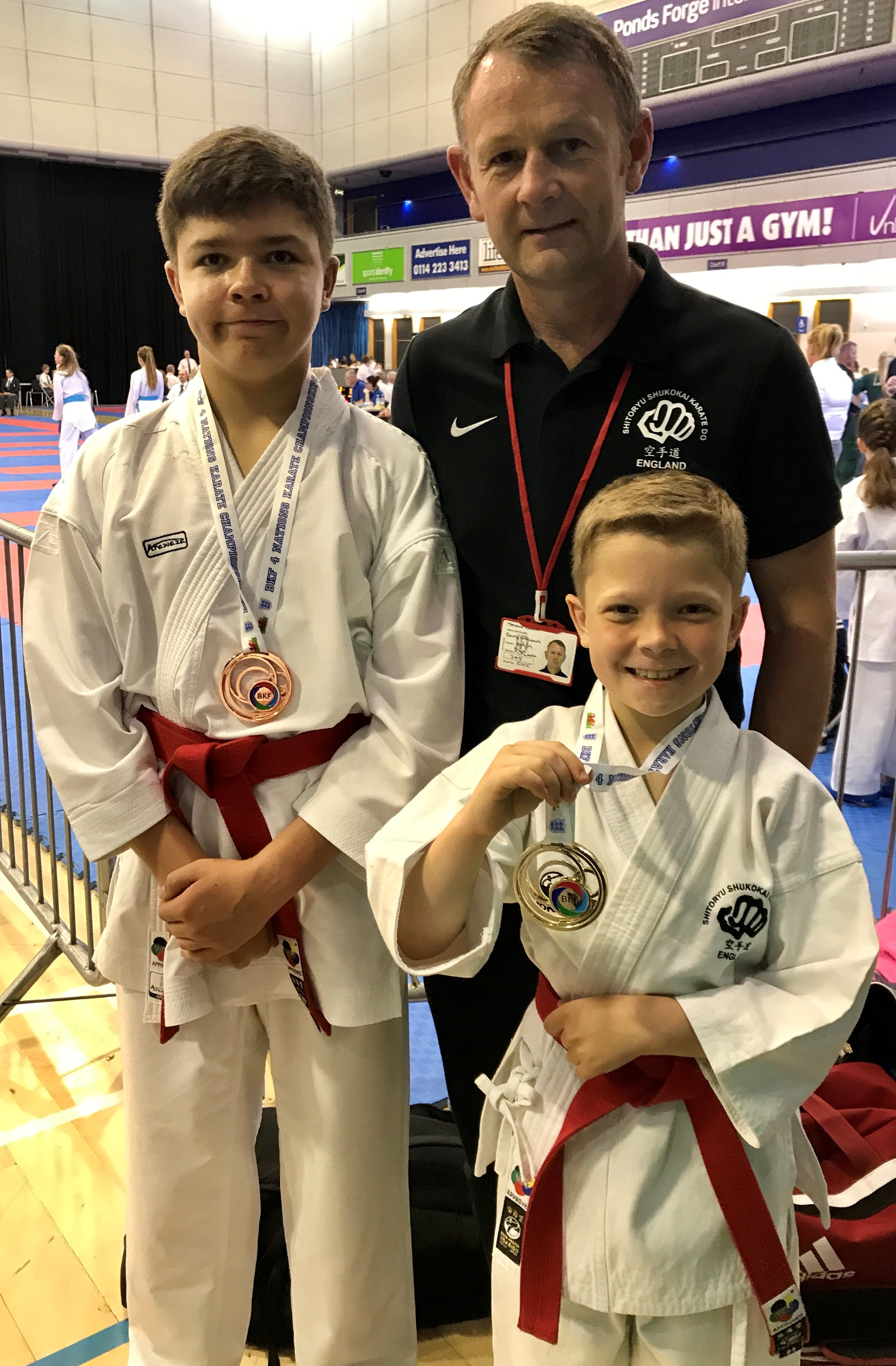 Williams Karate Squad member Jacob Lewis becomes British Champion as brother Joshua claims bronze