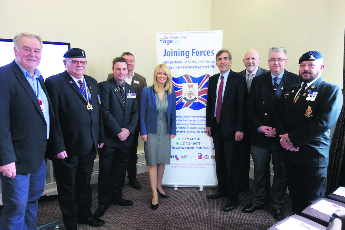 Joining forces to support our veterans