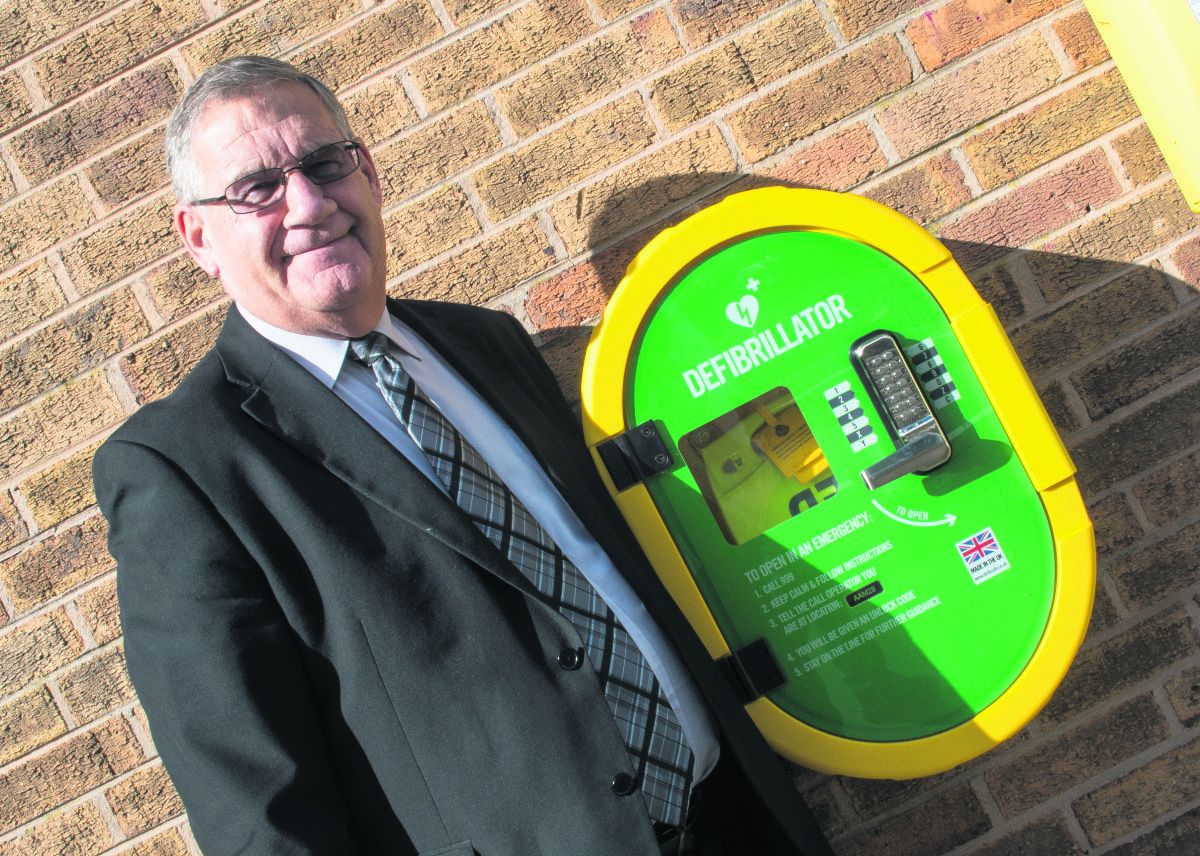 Life-saving devices fitted at fire stations