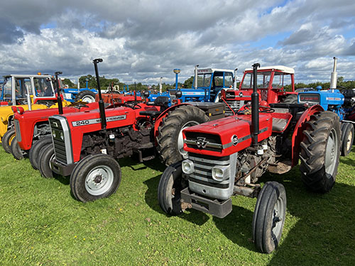 Charity tractor run raises money for Motor Neurone Disease charity