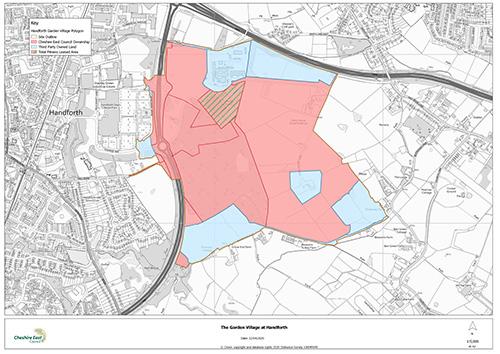 Handforth Garden Village development moves a step closer
