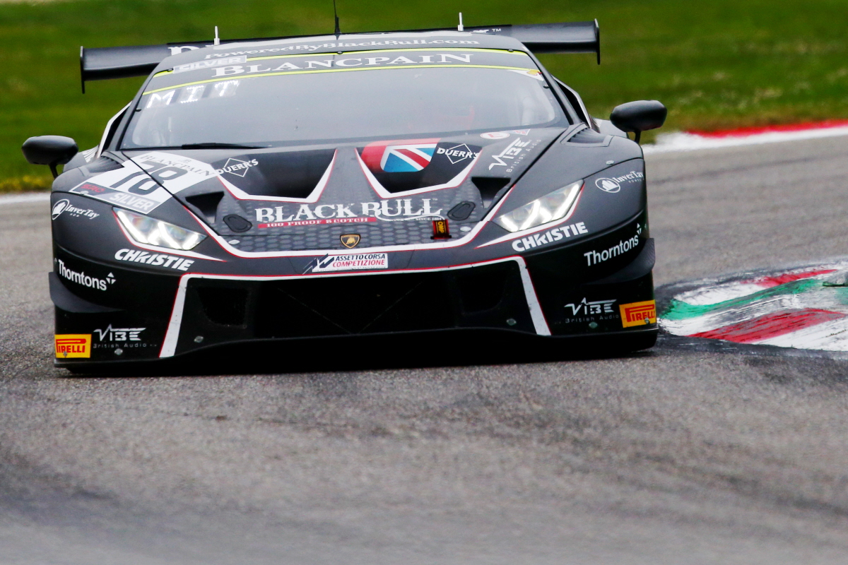 NANTWICH RACER WITT REMAINS WITH BARWELL MOTORSPORT & LAMBORGHINI