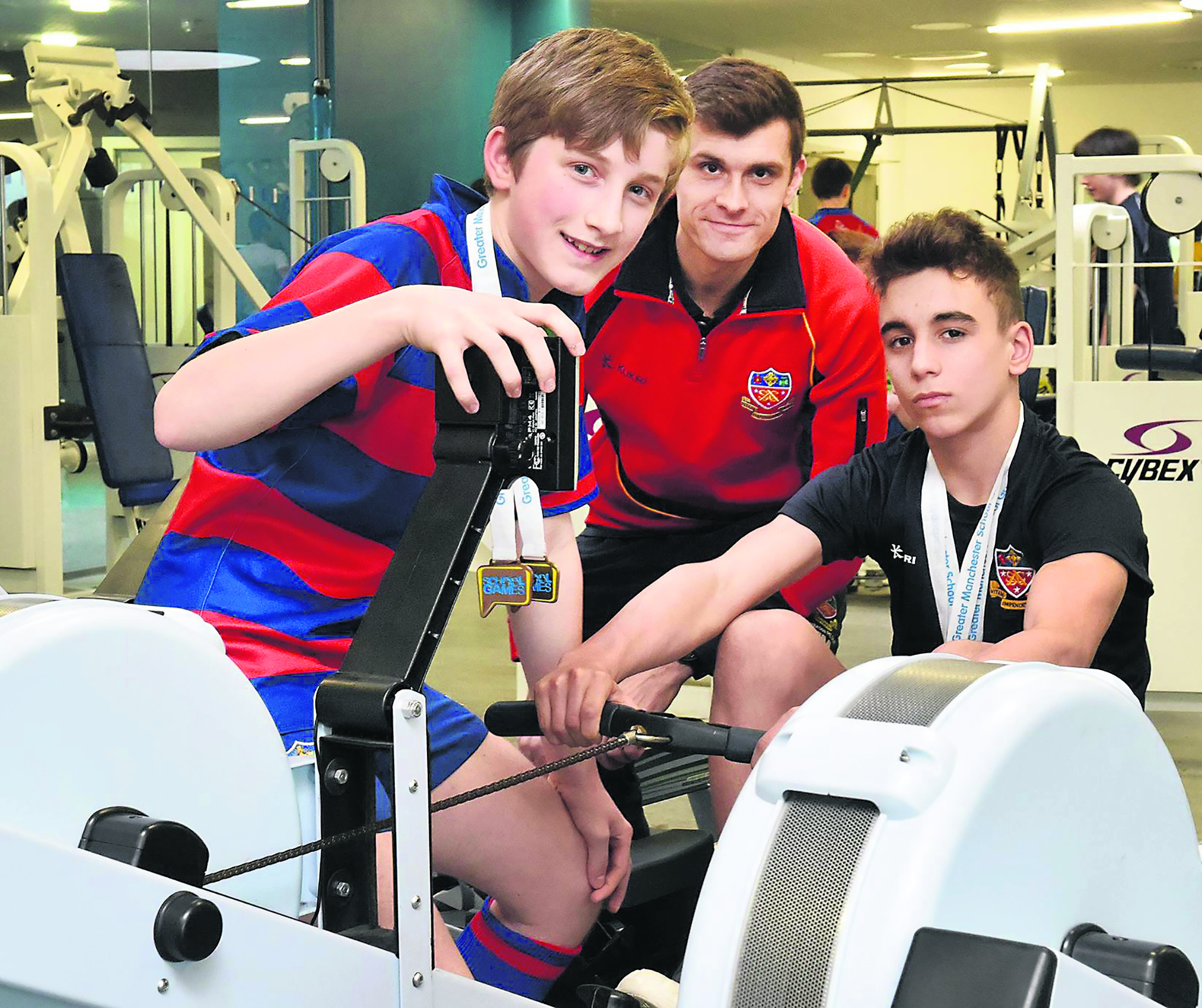Rowers take three titles