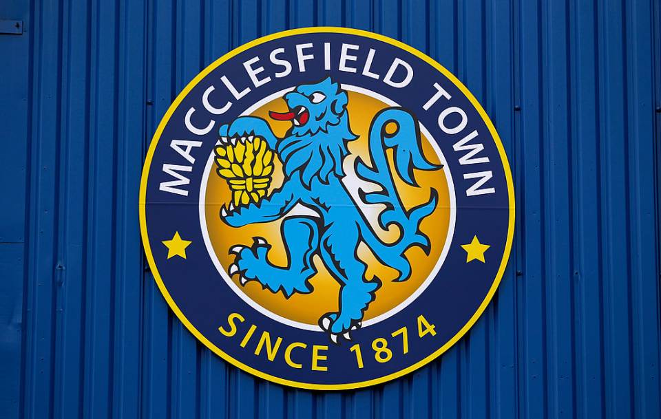 Sad news for Macclesfield Town FC