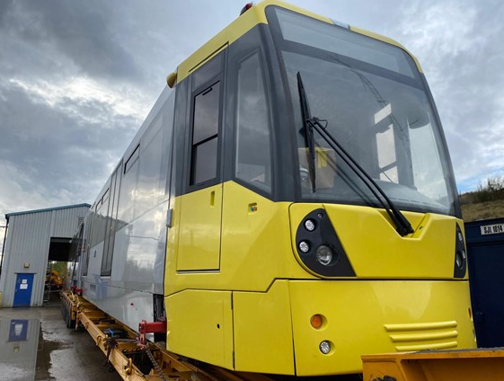 Landmark moment for Metrolink as first new vehicle arrives