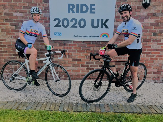 Family firm fuels pedal power for hospital