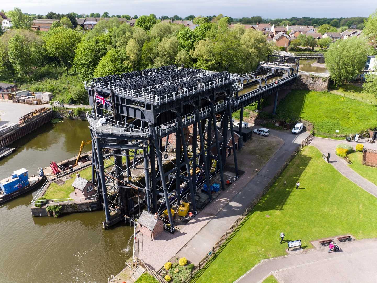 Cheshire's iconic Anderton Boat Lift holds free Steam Festival