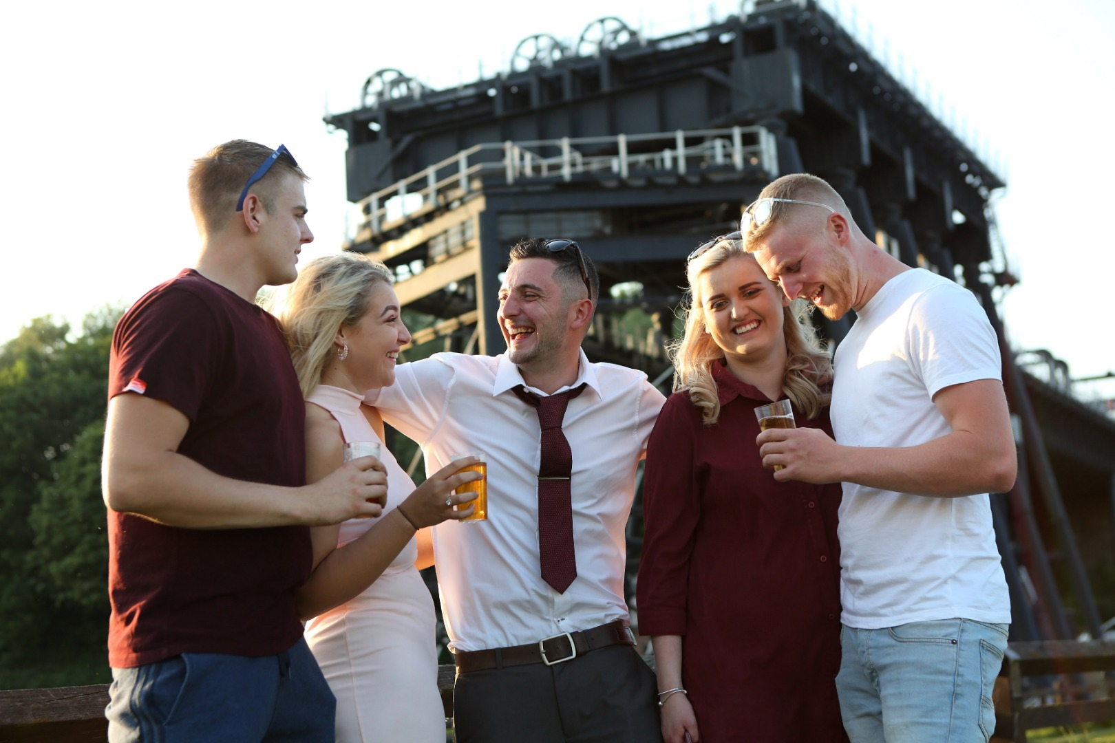 Seventh Annual Beer, Bands and Burgers Festival at Anderton Boat Lift