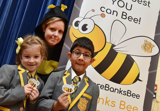 School adopts iconic Manchester bee to build community spirit
