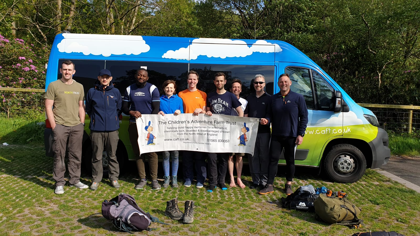 Altrincham company scales new heights for children's charity