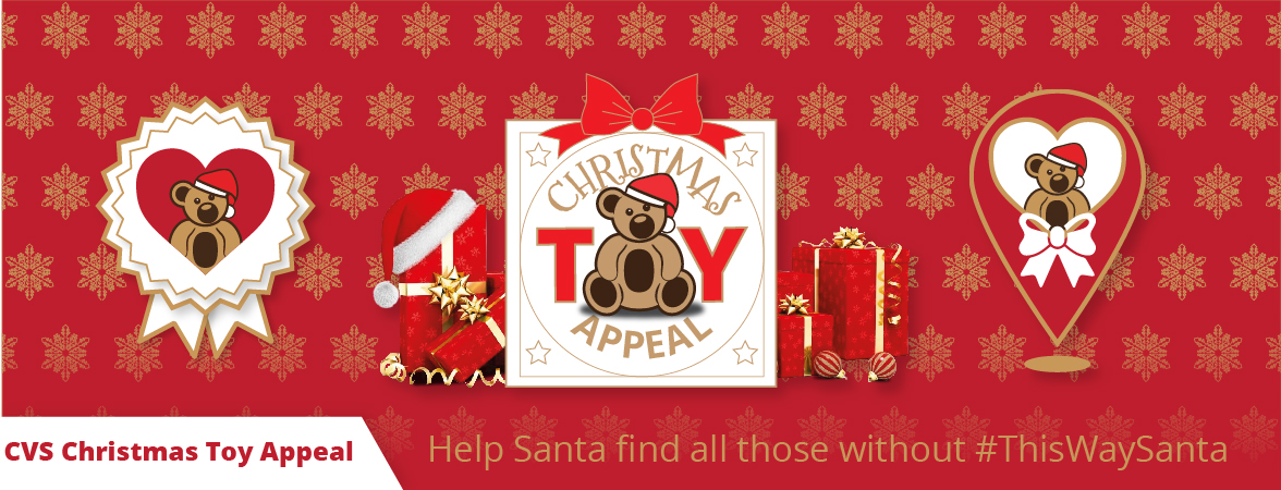 Support the CVS Christmas Toy Appeal