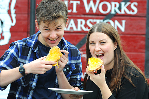 'Cheese the day' at Cheshire's Lion Salt Works Museum's CheeseFEAST Fest