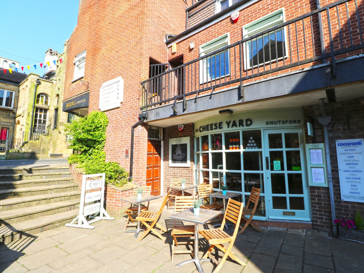 Knutsford cheese shop and cafe sold through Christie and Co