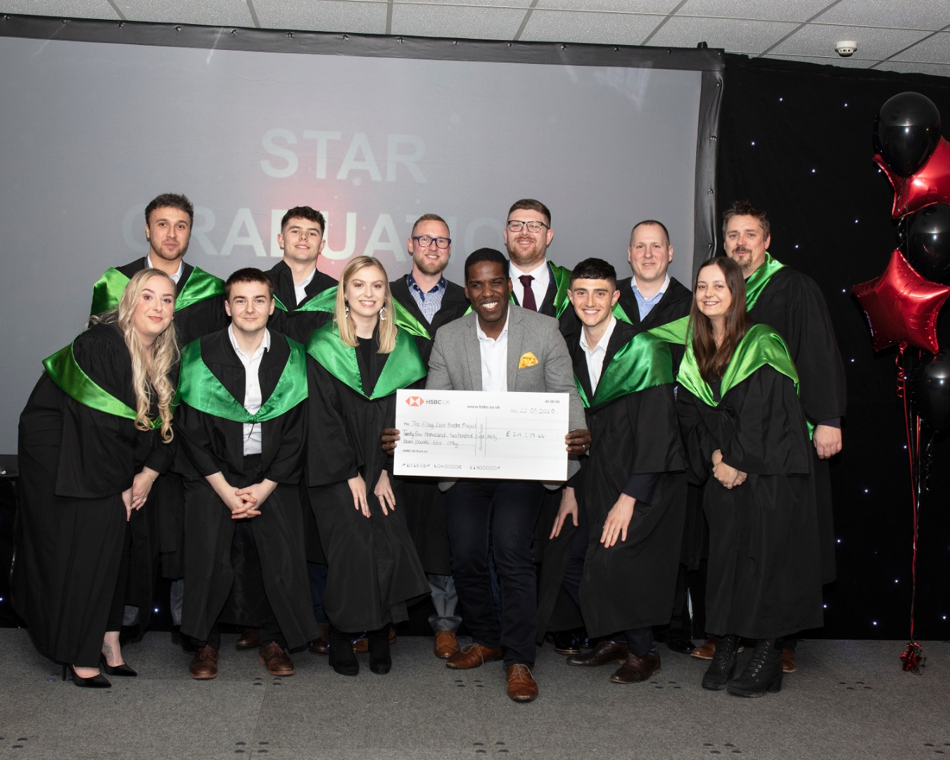 AO Stars Raise Thousands for Local Community Project