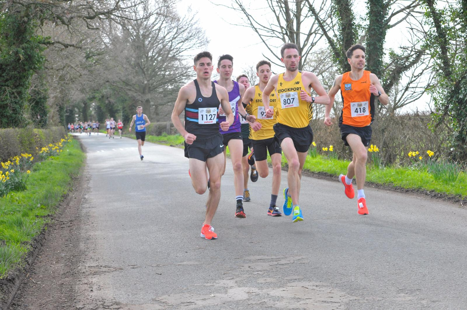 Cheshire 10k - Race Report Saturday 23rd March 2019