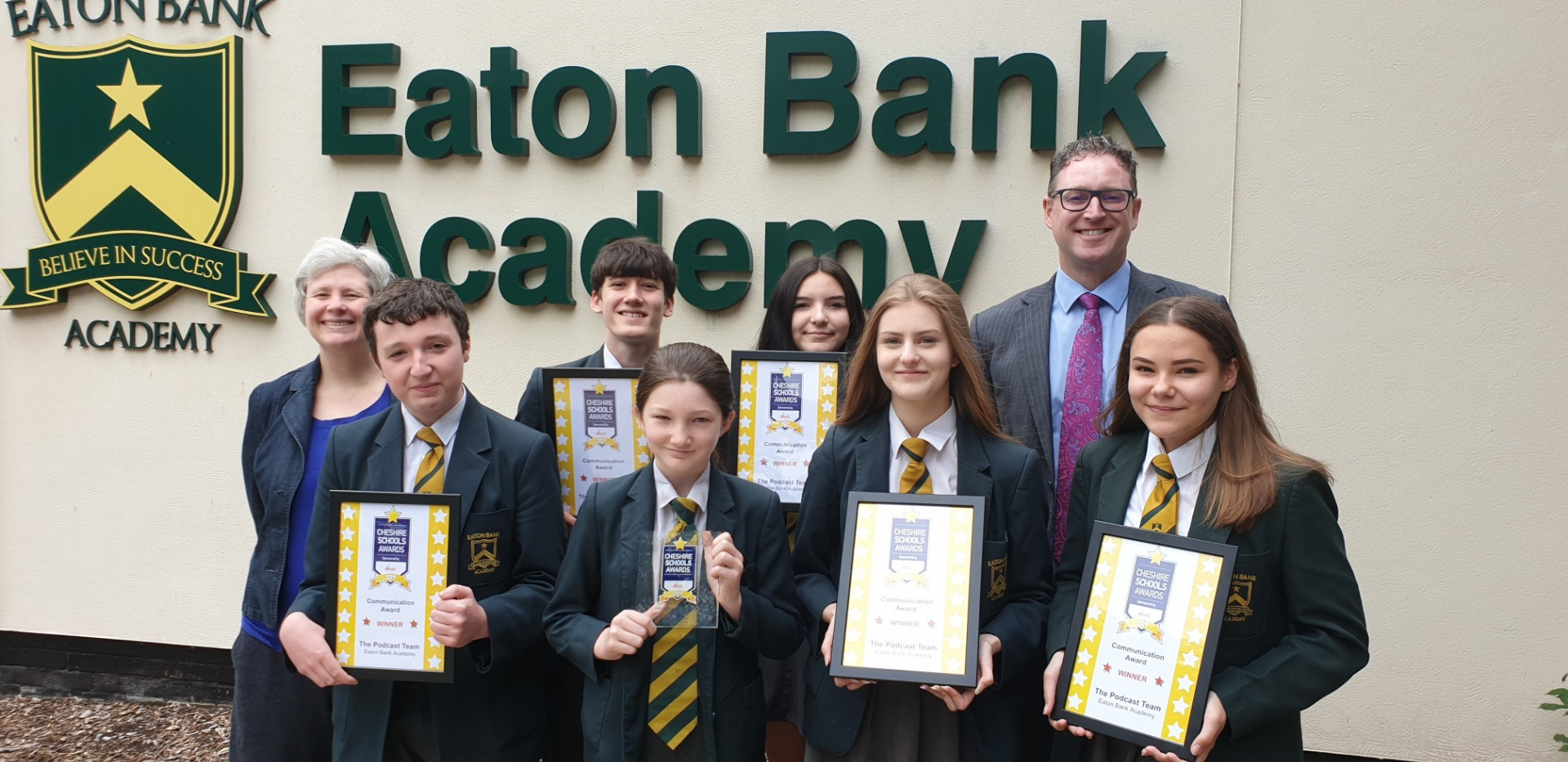 Cheshire Schools Award Winner