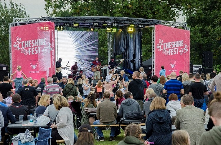 CHESHIRE FEST TO ENTERTAIN WITH ITS BIGGEST EVER PROGRAMME THIS WEEKEND