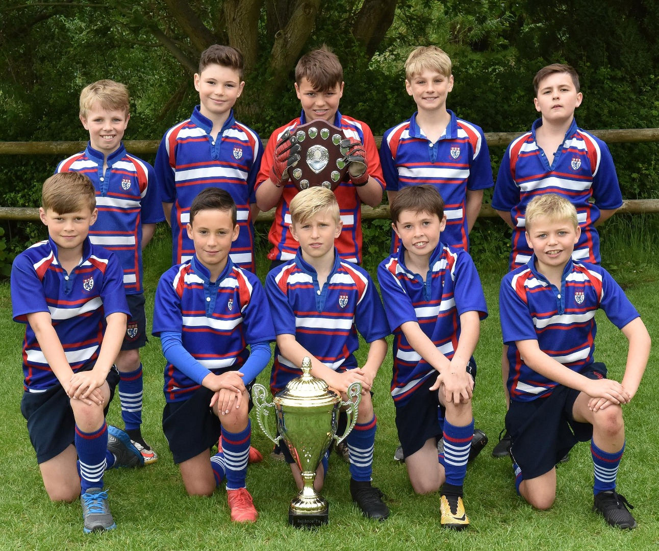 King's win Junior League and Cup Double