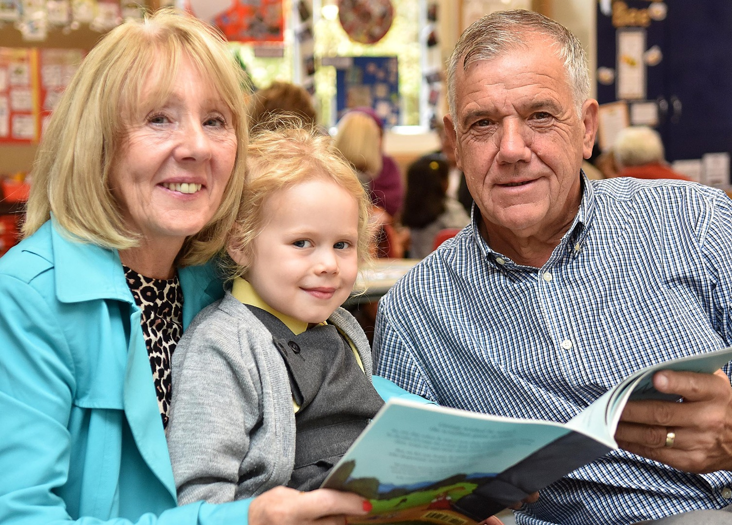 Grandparents take a lesson at Greenbank