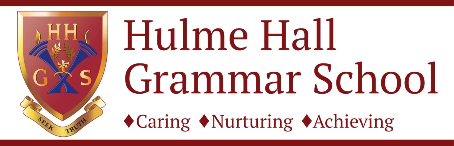 Hulme Hall Grammar School Logo