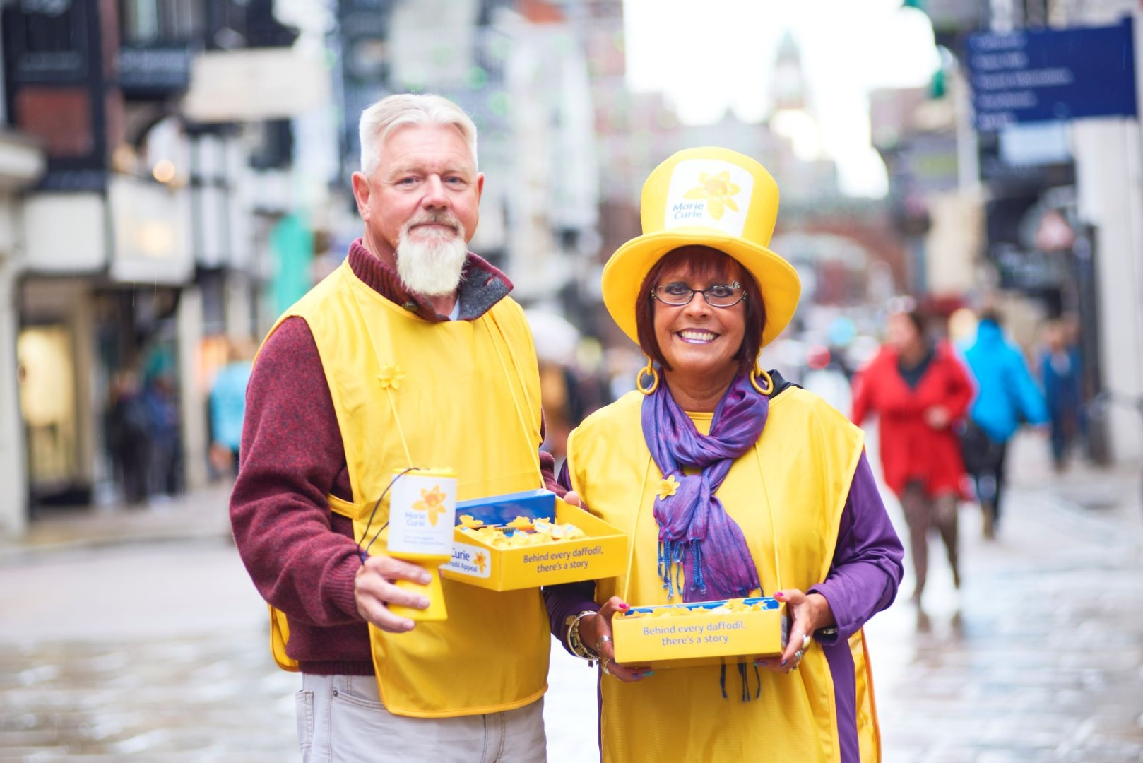 Volunteers needed now for Marie Curie Great Daffodil Appeal in Cheshire
