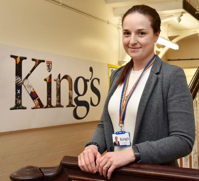 King's teacher shortlisted for National Award for LGBT IWork