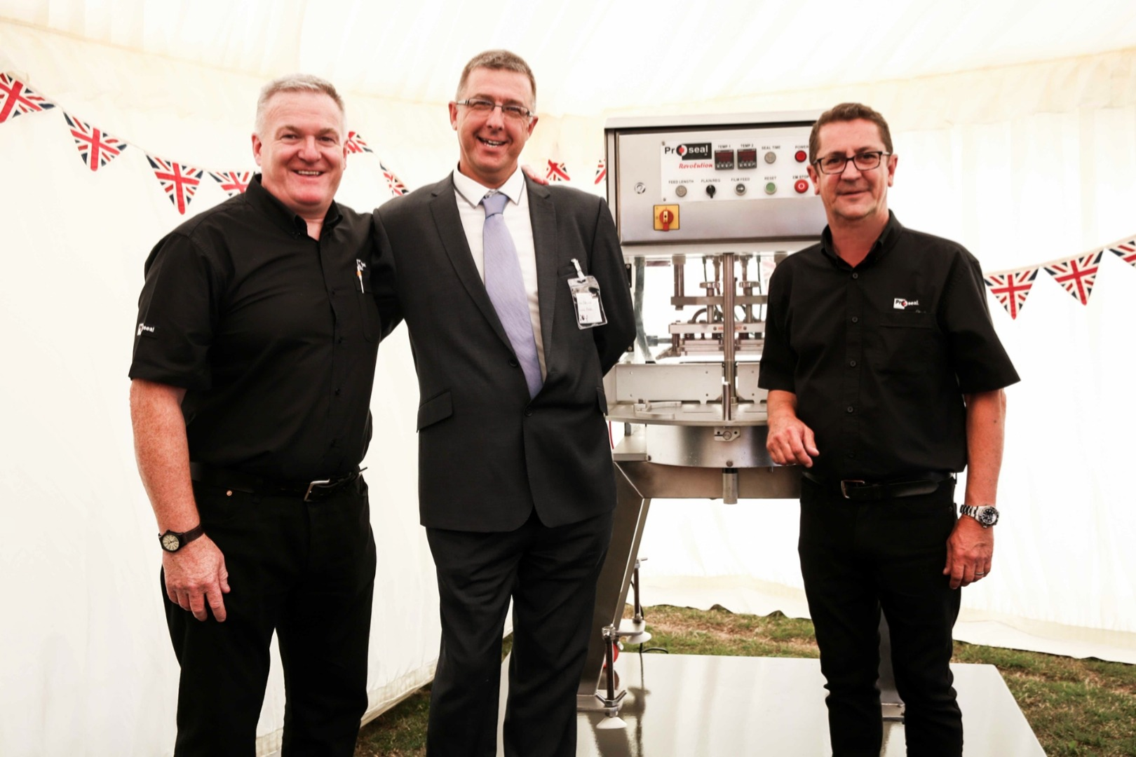 Proseal receives Queen's Award at Special Ceremony