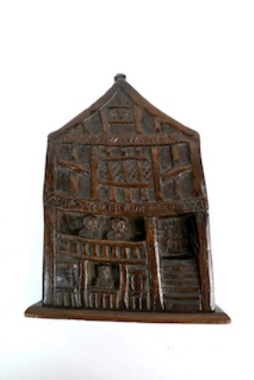 Rare carved Oak Memorial to Plague in 1647 sells for £5,700