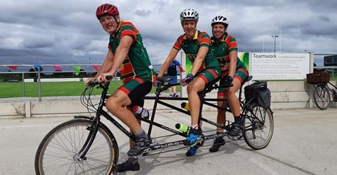 Family gears up for first LEJOG World Record attempt on a tridem bike