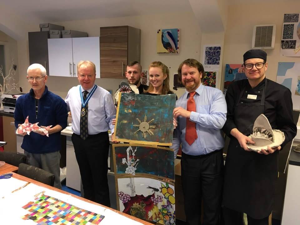 Cheshire's High Sheriff visits Salvation Army Lifehouse in Warrington