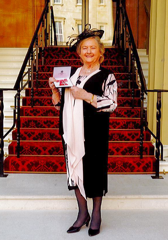 Cheshire resident receives MBE for service to local charities