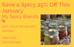 Special offer from local Cheshire producers