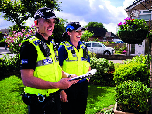 Community policing pledge as officer numbers rise