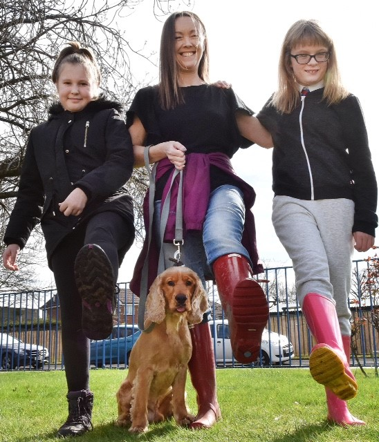 HEADTEACHER'S DOG INSPIRES NEW LESSON FOR URMSTON SCHOOL