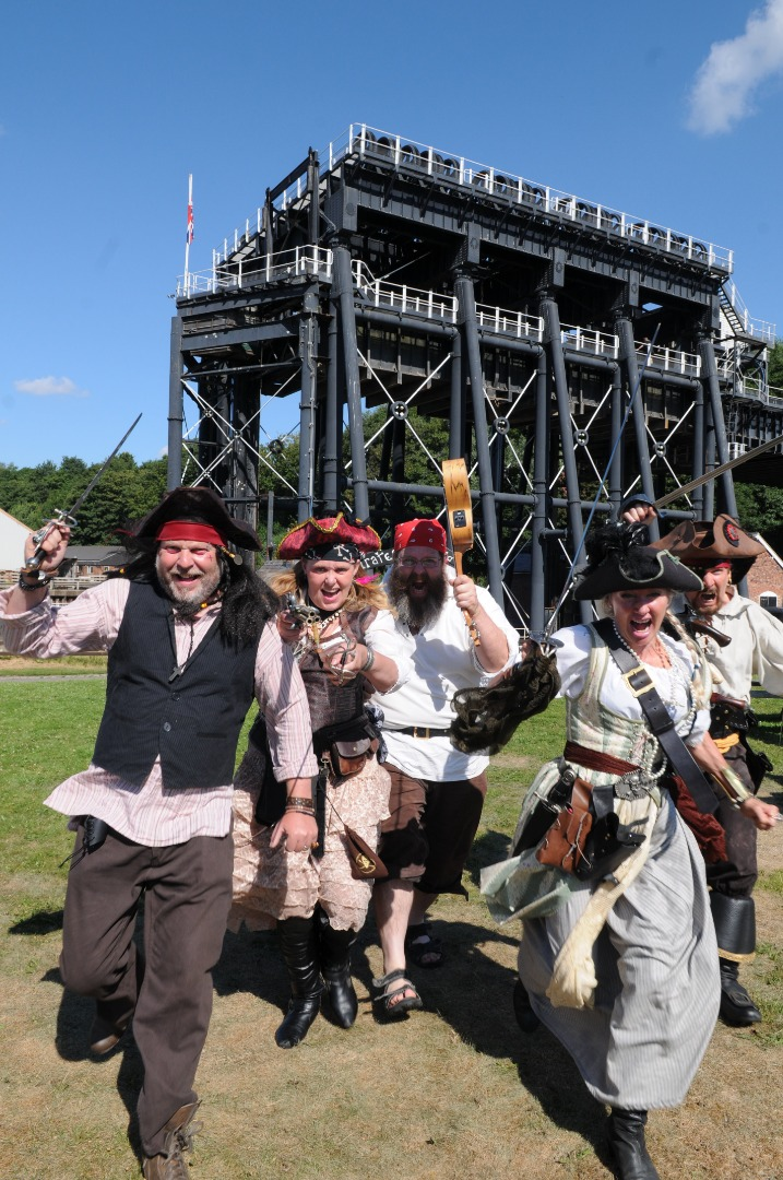 Free Pirate and Bucaneering fun comes to Anderton Boat Lift's on 20-21