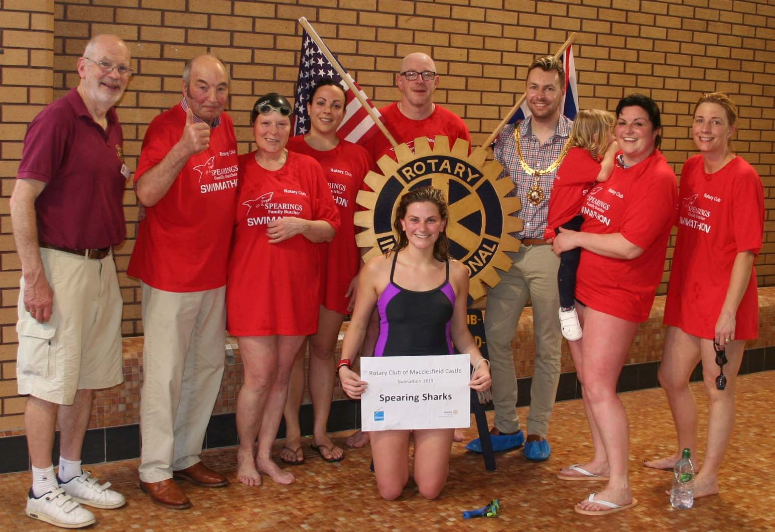 Rotary Swimathon surfs new high