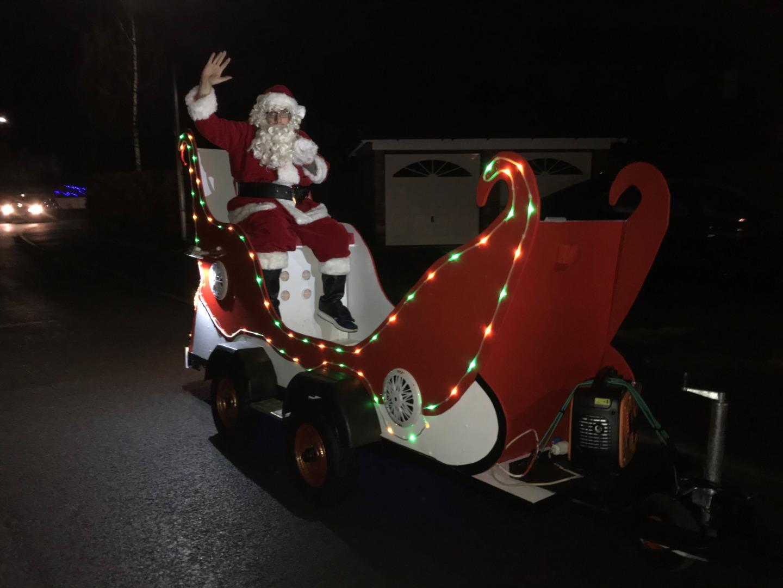 Congleton Santa thanks everybody for their generousity